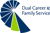Logo des Dual Career & Family Service