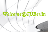 Logo Welcome@FU Berlin